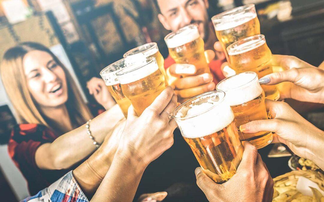 Sehen unter Alkoholeinfluss