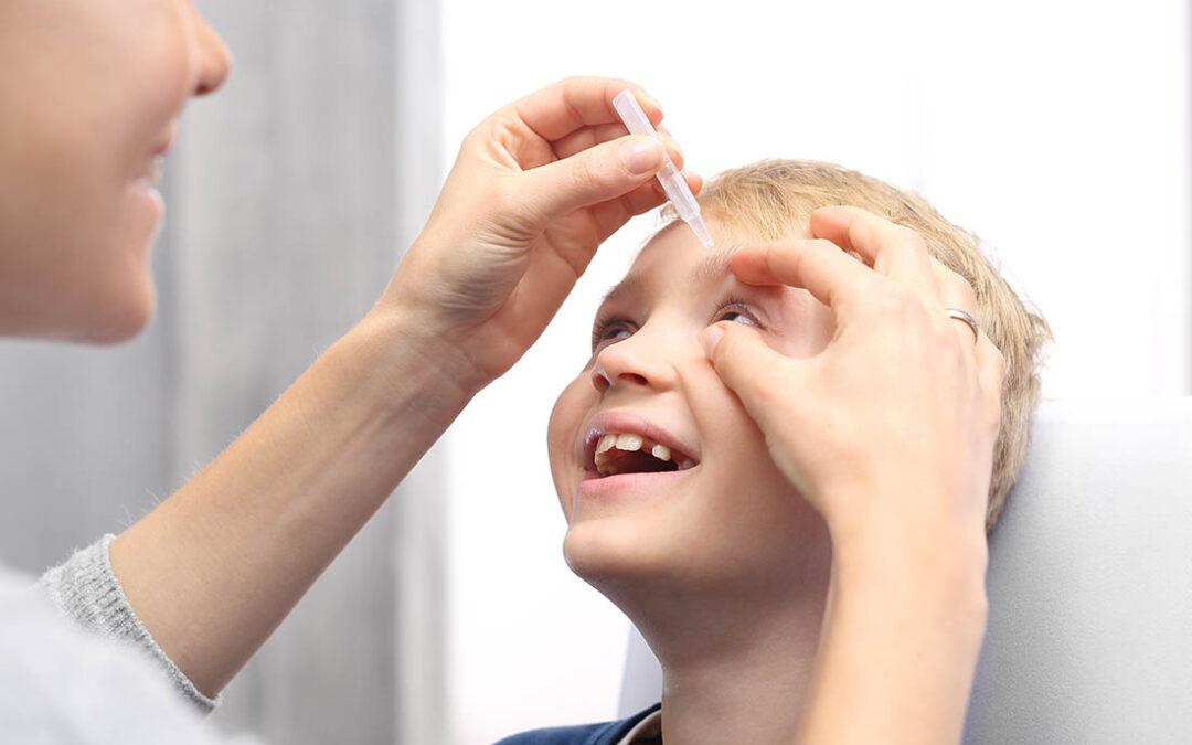 Augentropfen gegen Kurzsichtigkeit
